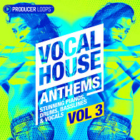 Vocal House Anthems 3 product image