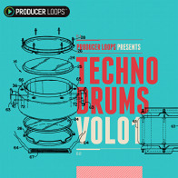 Techno Drums Vol 1 product image