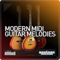 Modern MIDI Guitar Melodies product image