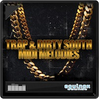 Trap & Dirty South MIDI Melodies product image