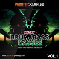 Angry D&B Basses Vol.1 product image