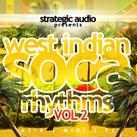 West Indian Soca Rhythms Vol.2 product image