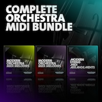 Complete Orchestra MIDI Bundle product image