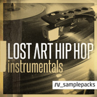 Lost Art Hip Hop Instrumentals product image