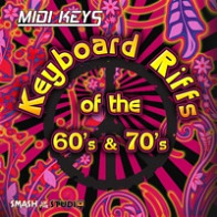 MIDI Keys: Keyboard Riffs of the 60's & 70's product image
