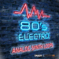 80's Electro Analog Synth Loops product image