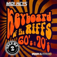 MIDI Keys: Keyboard Riffs Of The 60s & 70s Vol.2 product image