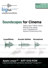 Soundscapes for Cinema - Apple Loops Library product image