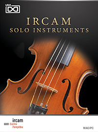 IRCAM Solo Instruments product image