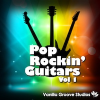 Pop Rockin' Guitars Vol.1 product image