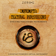 Zero-G Impromptu Textural Percussions - Evolving Percussion Instrument product image